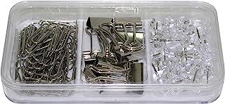 夹具套装 98 件 30 针 60 个信夹 8 个多功能夹 颜色:银色