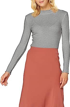 Noisy May 女式 Nmberry L/S 高领上衣 Noos 衬衫