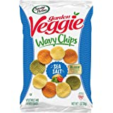 Sensible Portions 蔬菜素食薯片,海盐,1盎司每袋(24包装)