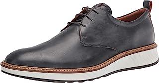 ECCO 爱步 Men's St.1 Hybrid Plain Toe 男士牛津布皮鞋