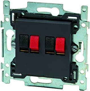 Niko 790887358 高 - 扬声器插头双密集型炭黑色