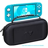 ButterFox 超薄紧凑便携保护套适用于 Nintendo Switch Lite ,带 19 个游戏和 2 个微型…