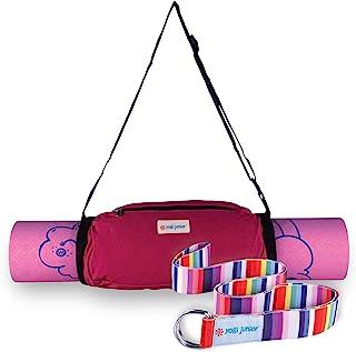 Yogi 青少年儿童瑜伽垫 - 不含 PVC - 双层 TPE 泡沫