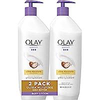 OLAY 玉兰油 超润身体乳液 含有乳木果油和维生素E及B3,20.2盎司(600ml/瓶)2瓶装