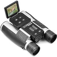 Technaxx FullHD 双筒望远镜 带显示屏 TX-142 – 集成摄像头 带 4 倍变焦和彩色显示屏 , 全高…