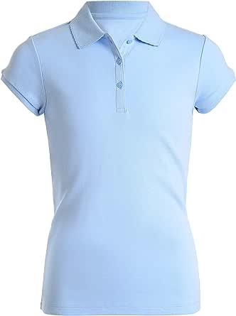 Nautica 诺帝卡 女童短袖 Polo 衫