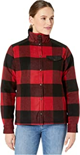 FJALLRAVEN 女式加拿大羊毛填充夹克 W
