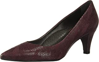 MARC JOSEPH NEW YORK 女士皮革巴西制造 2.25 英寸高跟鞋