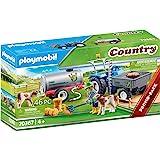 PLAYMOBIL Country 70367 带水箱的装载拖拉机 适合4岁以上儿童