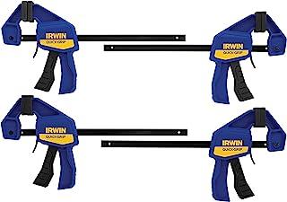 irwin quick-grip 单向悬挂迷你条夹套装,6,4包,5464 by irwin tools