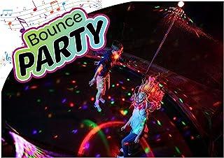 ThrillZoo 弹跳派对 - 蹦床灯光和音乐 - 儿童有趣的夏夜蹦床游戏