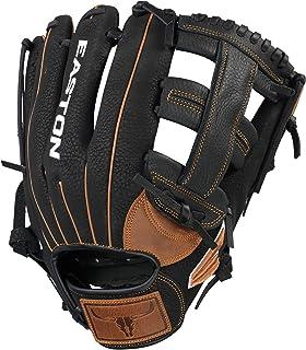 EASTON Prime 慢投垒球手套,12.5 英寸(约 31.8 厘米),RHT,垒球深口袋设计,单柱网,PSP125