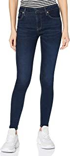 Superdry 极度干燥 女士中腰紧身牛仔裤