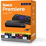 Roku Premiere | HD/4K/HDR Streaming Media Player, Simple Rem…