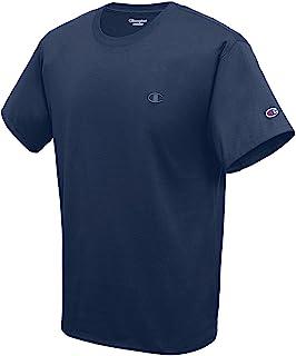 Champion 男士经典球衣T恤,Navy,Medium