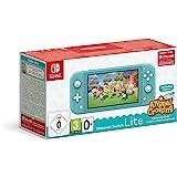 Nintendo 任天堂 Switch Lite 绿松石色 & 动物穿越:新猎豹版