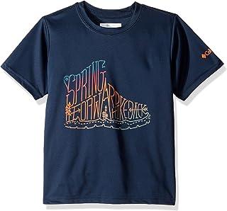 Columbia 男童 Peak Freak 短袖衬衫