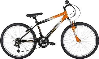 Flite Boy Ravine 自行车,24 英寸车轮 - 黑色/橙色