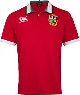 Canterbury 男式英伦和雄狮队短袖经典运动衫