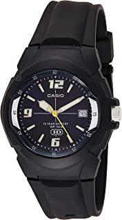 CASIO 男式 MW600F-2AV 运动手表 黑色树脂表带