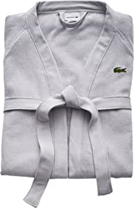 LACOSTE 鳄鱼牌 经典珠地布 * 纯棉浴袍 41.5 英寸(约 114.9 厘米)L 细碎