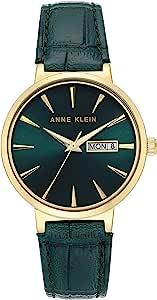 Anne Klein 安妮克莱因 女士星期/日期功能鳄鱼纹表带手表 AK/3824