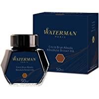 Waterman 瓶装墨水 50毫升 50ml 棕色