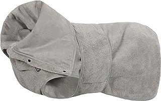 rukka 吸水性强狗狗浴袍由超细纤维超细纤维超细纤维超细纤维制成。5 种尺寸适合所有主要品种。(中号)