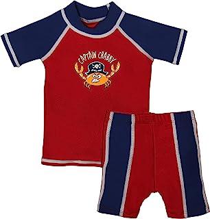 grUVywear 男婴*服套装 - UV 衬衫和短裤 - *泳衣