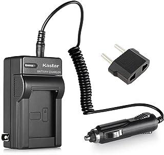Kastar 电池家用旅行充电器带车载适配器,适用于索尼 NP-FM50,NP-FM70,NP-FM90,NP-QM71D,NP-QM91D,NP-FM55H,NP-FM500H,NP-F330,NP-F550,NP-F750,NP-F960数...