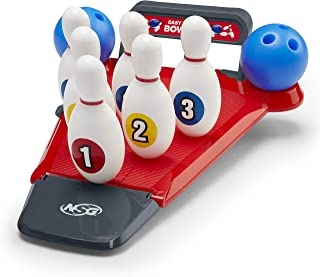 NSG Easy Up Pins 儿童保龄球套装 – 迷你保龄球巷 带 6 针和 2 个球