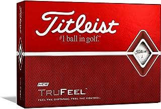 TITLEIST 高尔夫球 TRUFEEL 1打 (12个装) 日本正品
