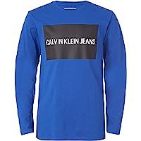Calvin Klein 男孩长袖 T 恤