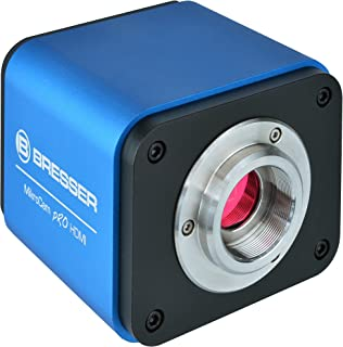 Bresser High End 微摄像头 Micro Cam Pro HDMI (HDMI, SD, Full HD) 带有集成操作系统和高敏感 Sony IMX236 传感器,图像输出通过 HDMI 带屏幕显示和丰富的专业软件