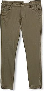 Noisy May 女式 NMKIMMY NW 紧身涂层裤 S 码长裤,Kalamata,M/32