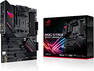 ASUS 华硕 ROG Strix B550-F 游戏(WiFi 6) AMD AM4 Zen 3 Ryzen 5000 和*三代 Ryzen ATX 游戏主板(PCIe 4.0,2.5Gb LAN,BIOS Flashback,HDMI 2....