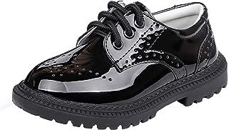 WUIWUIYU 男童女童系带校服牛津鞋(幼儿/小童/大童)