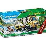 PLAYMOBIL 摩比世界 Wild Life 探险车拼插玩具 70278,适合4岁以上儿童