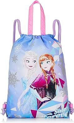 Disney 迪士尼 冰雪奇缘 反光印花 布袋 女孩 313235002 蓝色