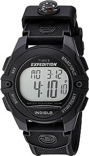 Timex 天美时 Expedition 经典数字计时闹钟计时器 41 毫米手表