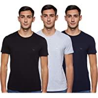 Emporio Armani 阿玛尼 男士纯棉圆领T恤衫,3件装