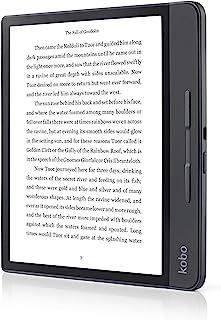 Rakuten Kobo Forma – 电子书阅读器(20.3 厘米(8 英寸),E 墨水卡,1440 x 1920 像素,3:4,CBR,CBZ,HTML,移动,PDF,RTF,TXT,ePub,BMP,GIF,JPEG,PNG,Tiff)