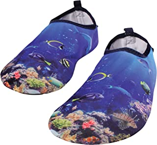 Hudson Baby 中性成人涉水鞋,适用于运动、瑜伽、海滩和户外。
