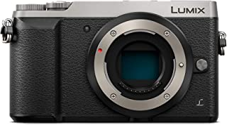 松下 Lumix dmc-gx80eg MILC 机身 16 MP 4/3 Live MOS 4592 x 3448 像素银色数码相机(16 MP,4592 x 3448 像素,实时 MOS,视频录制,4 K 超高清,银色)