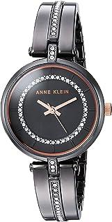 Anne Klein Women's Swarovski Crystal Accented Bangle Watch