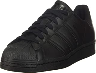 adidas 阿迪达斯 Originals 儿童 Superstar 运动鞋 Core Black/Black/Core Black 4.5 Big Kid