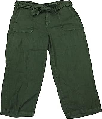 NYDJ 时尚卡普里工装裤,带配套腰带