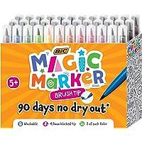 BIC Magic 马克笔刷头,多种颜色,36 支