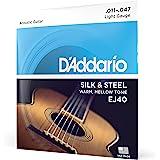 D'Addario 达达里奥Silk & Steel EJ40 11-47 民谣吉他弦