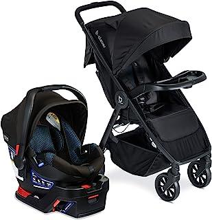 Britax B-Clever & B-Safe Gen2 出行用具,带儿童托篮,凉爽蓝绿色
